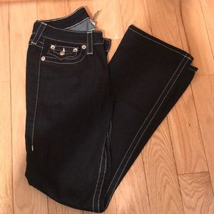 True Religion high rise boot cut jeans